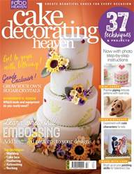 Cake Decorating Heaven issue Cake Decorating Heaven January/February