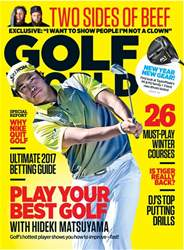 Golf World issue March 2017