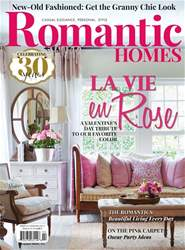 Romantic Homes issue February 2017