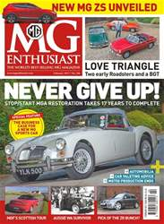 MG Enthusiast issue Vol. 48 No. 2 Never Give Up!