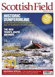 Scottish Field Magazine Cover
