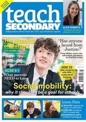 Teach Secondary issue Vol.6 No.1