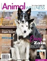 Animal Wellness issue Animal Wellness