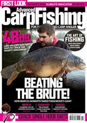 Advanced Carp Fishing Magazine Cover