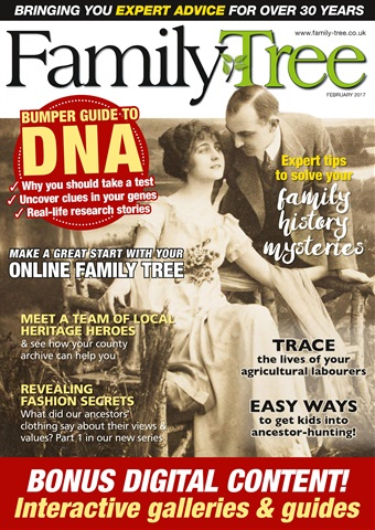 Family Tree issue Family Tree February 2017