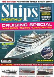 Ships Monthly Magazine Cover