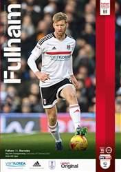 Fulham FC issue Fulham V Barnsley 2016-17