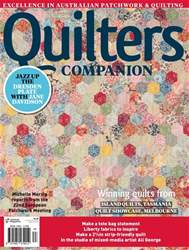 Quilters Companion issue Issue#83 2017