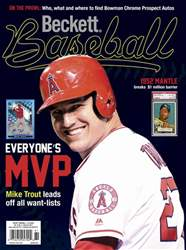 Beckett Baseball issue February 2017