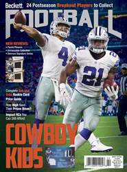 Beckett Football issue February 2017
