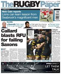 The Rugby Paper issue 15th January 2017