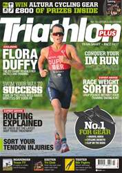 Triathlon Plus issue No. 101 Flora Duffy