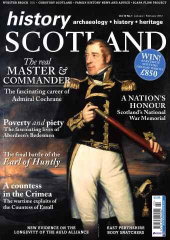History Scotland issue Jan-Feb 2012