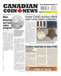 Canadian Coin News issue V54#22 - February 7