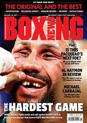 Boxing News UK issue 17/01/2017