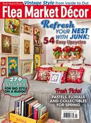 Flea Market Décor issue Mar/Apr 2017