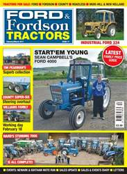 Ford & Fordson issue No. 77 Start 'em Young