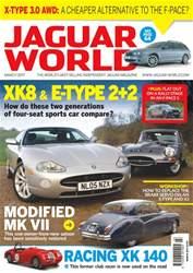 Jaguar World issue No. 181 XK8 & E-Type 2+2