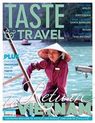 Taste & Travel International issue Taste & Travel International