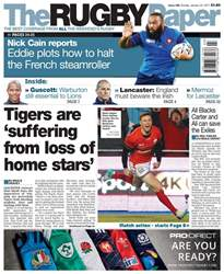 The Rugby Paper issue 22nd January 2017