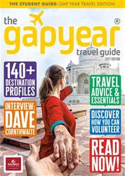 The Gap Year Travel Guide issue The Gap Year Travel Guide