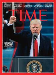 Time Magazine issue 30th January 2017