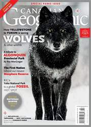 Canadian Geographic issue January/February 2017