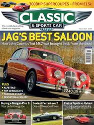 Classic & Sports Car issue March 2017