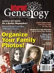 Internet Genealogy Magazine Cover