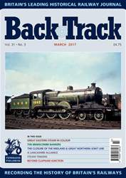 Backtrack issue March 2017