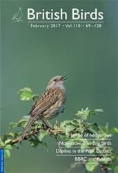 British Birds issue February 2017 | Vol 110 | 69 - 128