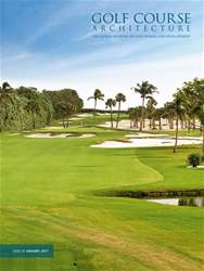Golf Course Architecture issue January 2017