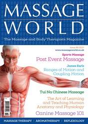 Massage World issue Massage World Issue 95