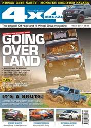 4x4 Magazine issue No. 398 Going Over Land