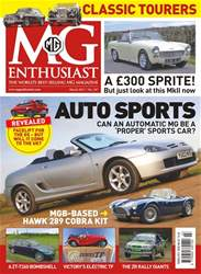 MG Enthusiast issue Vol. 48 No. 3 Auto Sports