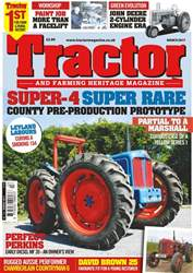 Tractor & Farming Heritage Magazine issue March 2017