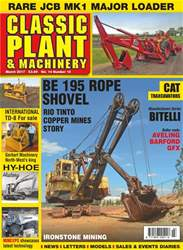 Classic Plant & Machinery issue Vol. 14 No. 16 Be 195 Rope Shovel