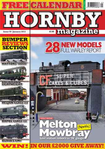 Hornby Magazine issue January 2012