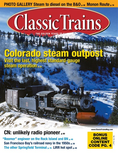 Classic Trains Digital Issue