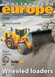 Construction Europe issue Construction Europe