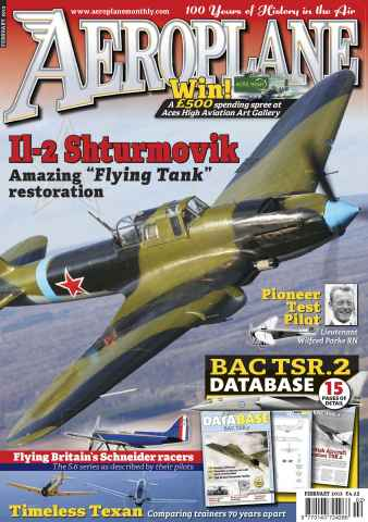 Aeroplane issue No.466 Il-2 Shturmovik
