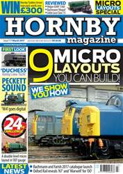 Hornby Magazine issue  March 2017
