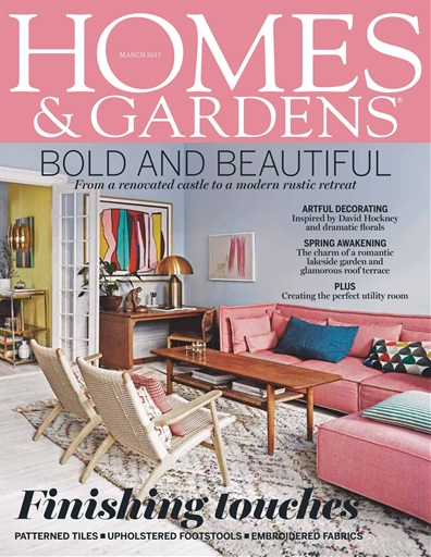Homes Gardens Magazine March 2017 Subscriptions