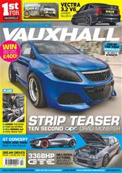 Performance Vauxhall issue No. 186 Strip Teaser