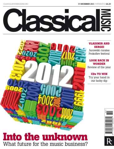 Classical Music issue 17th December 2011