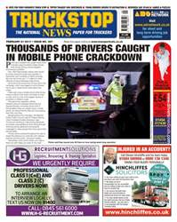 Truckstop News issue No. 387 Thousands of drivers caught in mobile phone crackdown