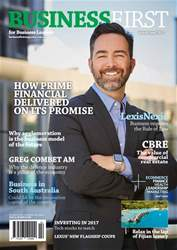 Business First Magazine issue Feb/Mar 2017