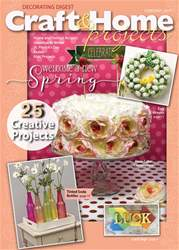 Craft & Home Projects issue February 2017