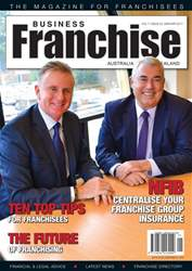 Business Franchise Australia&NZ issue Business Franchise Australia&NZ