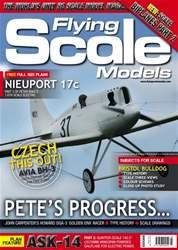 Radio Control Model Flyer Magazine Cover